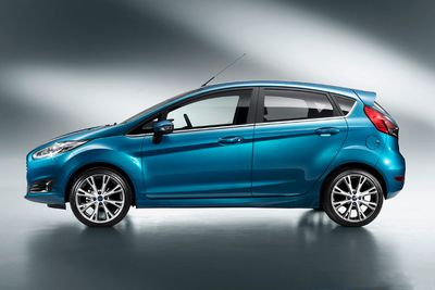 Auto do floty: Ford Fiesta 5D