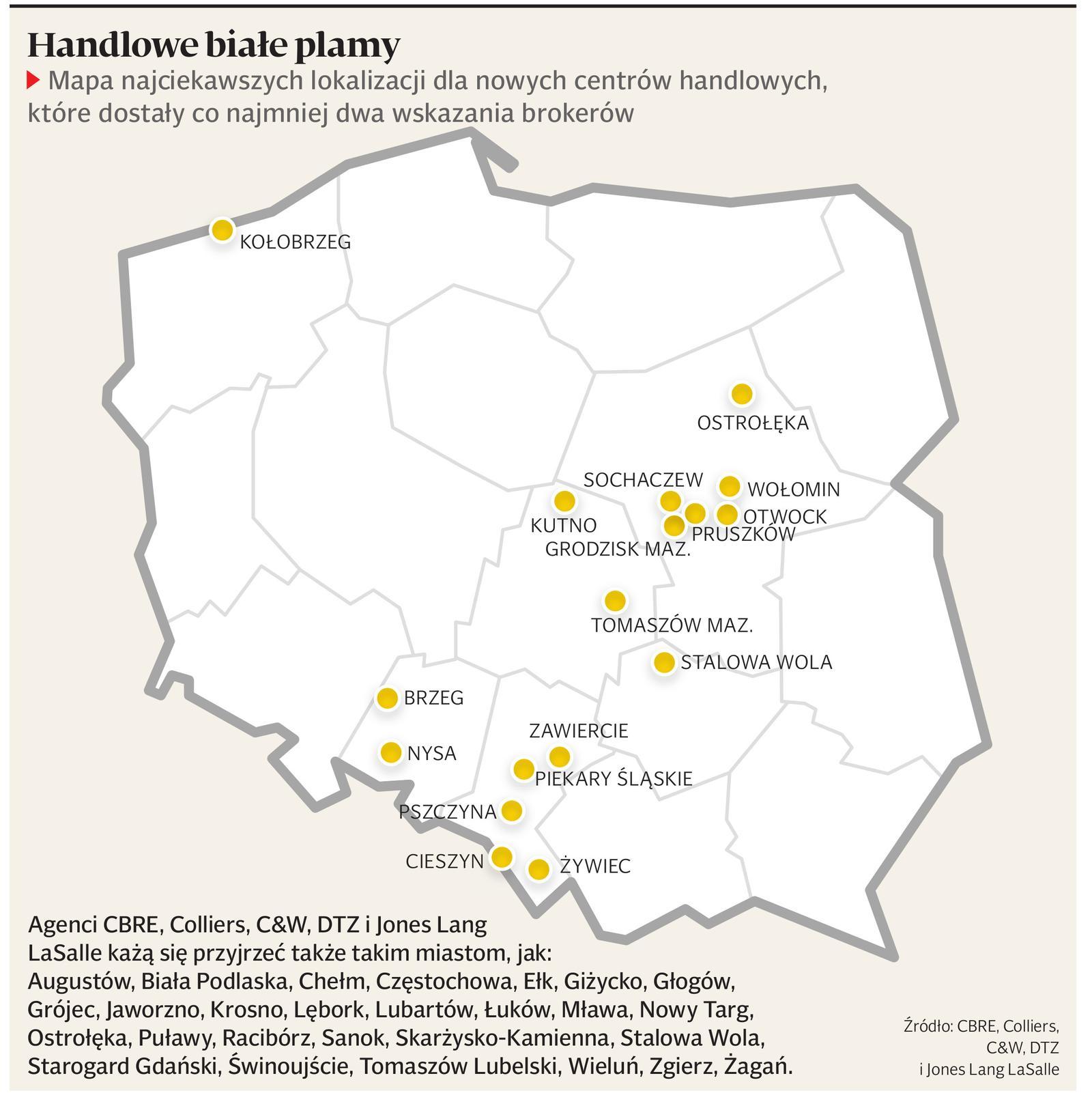 Handlowa Mapa Polski Puls Biznesu Pb Pl
