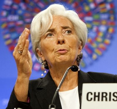 Christine Lagarde, fot. Bloomberg