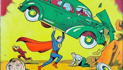 Komiks Action Comics #1