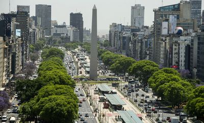 9th Avenue w Buenos Aires, Argentyna