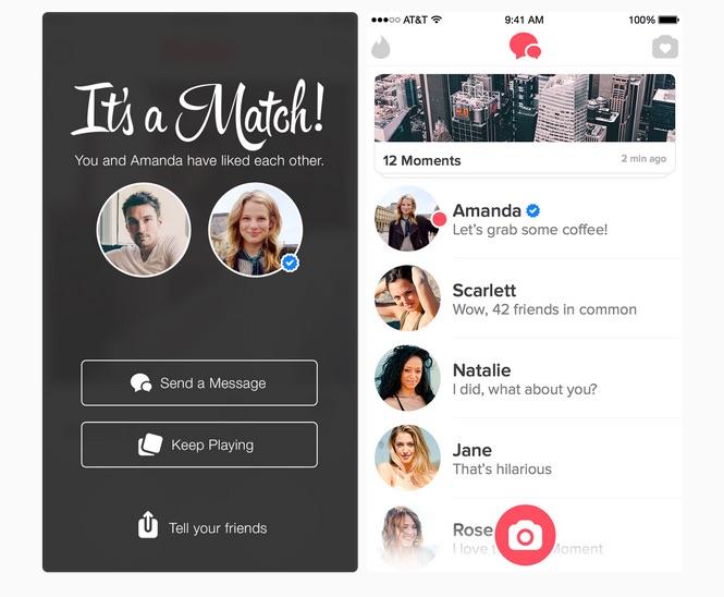 Jest to aplikacja randkowa