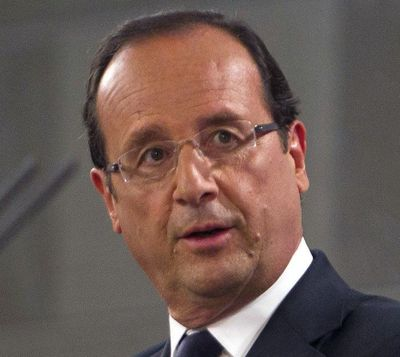 Francois Hollande, fot. Bloomberg