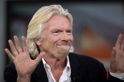 Richard Branson (fot. Bloomberg)