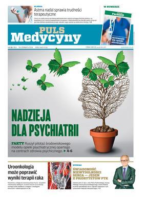 """Okładka najnowszego wydania """"Pulsu Medycyny"""""""