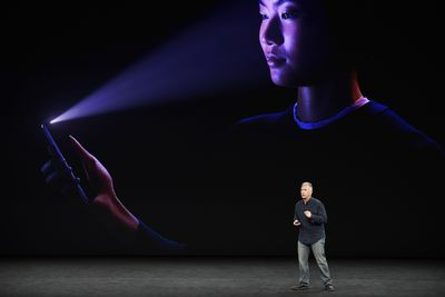 Prezentacja Apple Face ID (iPhone X)