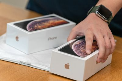 iPhone XS i XS Max firmy Apple