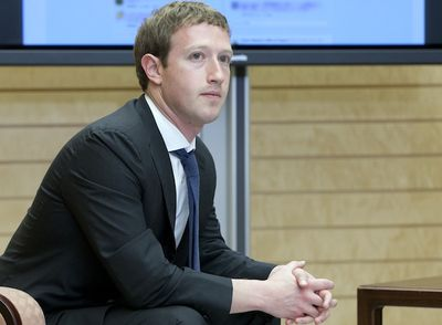 Mark Zuckerberg, szef Facebooka (fot. Bloomberg)