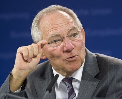 Wolfgang Schauble, fot. Bloomberg
