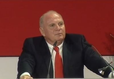 Uli Hoeness, fot. youtube.com