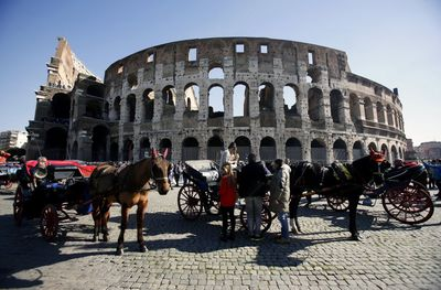 Colosseum w Rzymie (fot. Bloomberg)