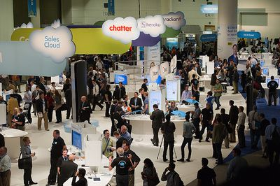 Cloud Expo w San Francisco 2011 (FOT. Bloomberg)
